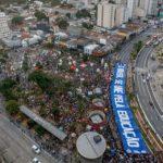 Estudiantes e indígenas protestan contra políticas de Bolsonaro en Brasil