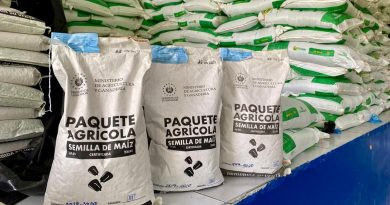 MAG dispondrá de dos sitios de entrega de paquetes agrícolas en Tecoluca