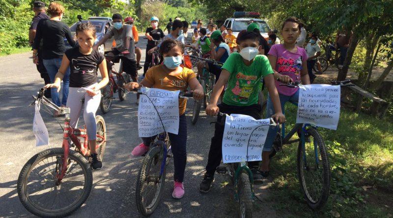 Jornada de ciclismo en el marco del Día Mundial del Medio Ambiente